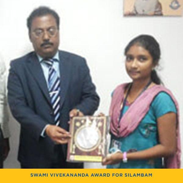 Swami Vivekananda Award For Silambam