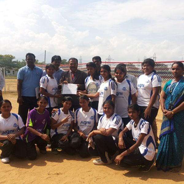 Girls Team Winning Moment